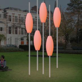 Aluminium LED buitenlamp - Profiel Cocon