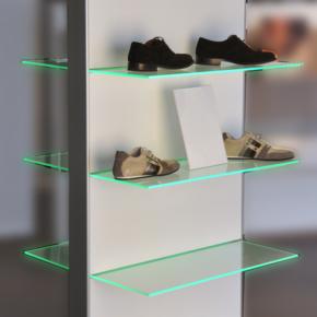 Aluminium vrijstaand meubilair - Profiel Domino